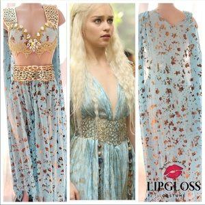 🔥Sexy Khalessi Daenerys Targaryen Costume